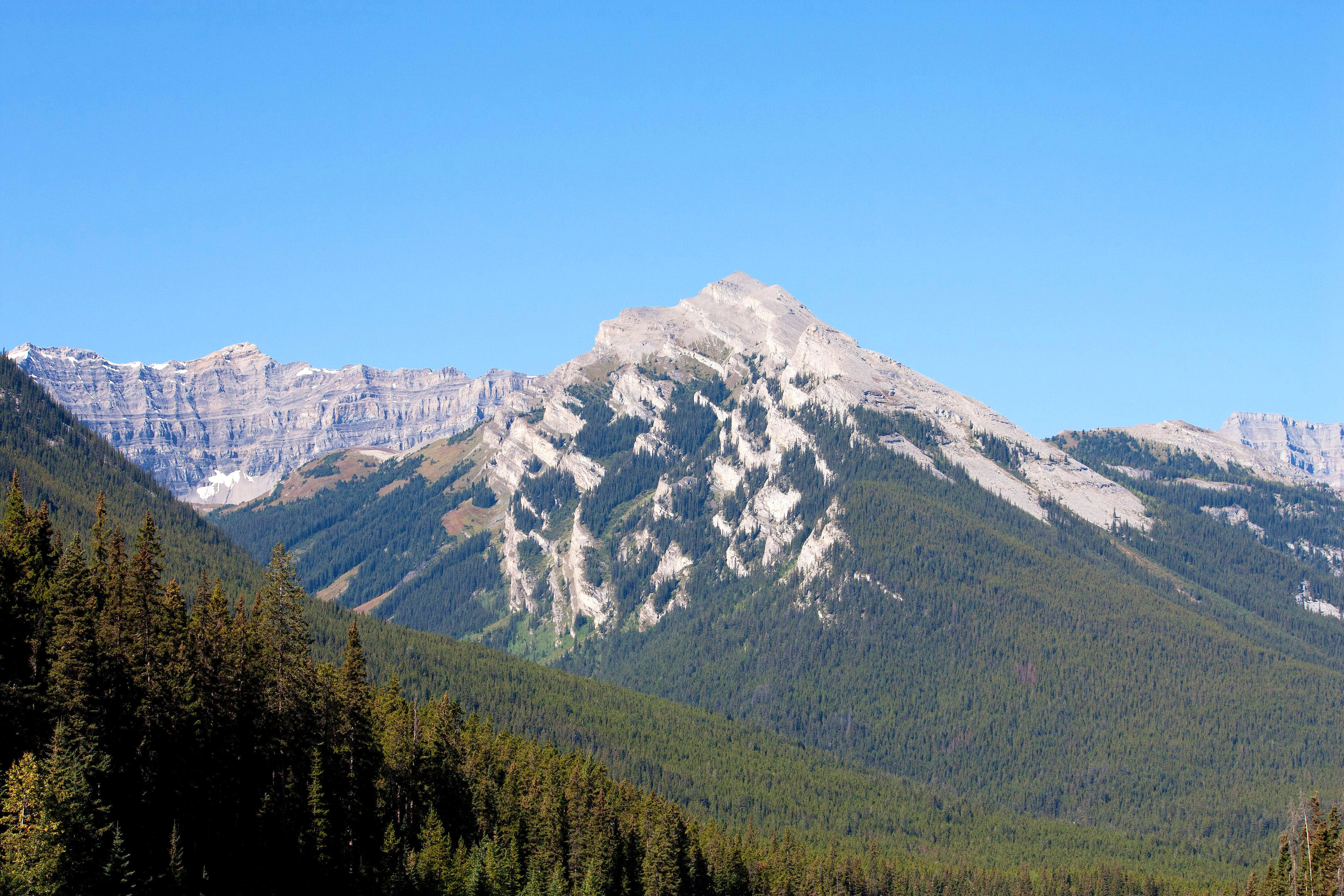 Heading to Banff National Park