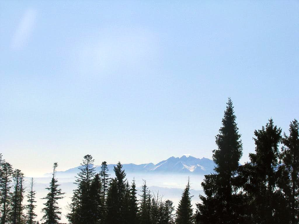 Distant Tatras