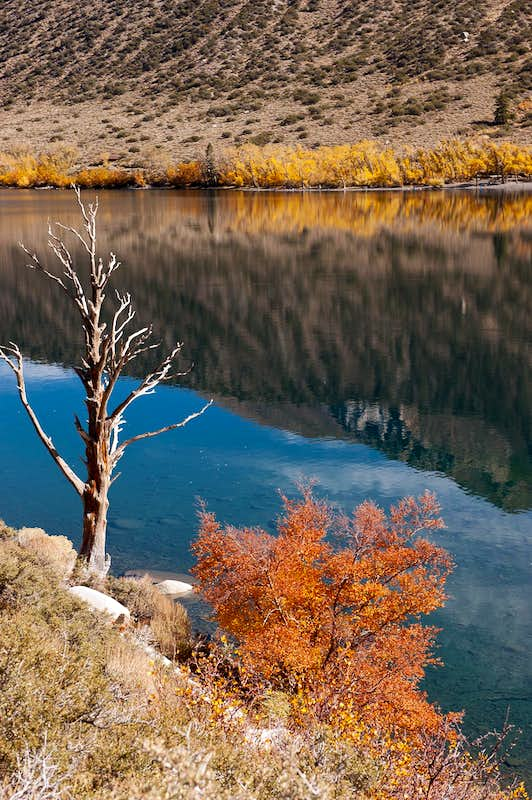 Convict Lake in Fall Colors
