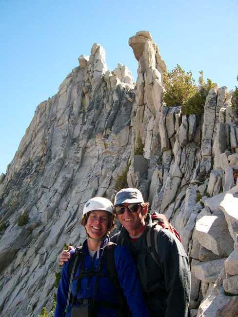 Good climbing and good...