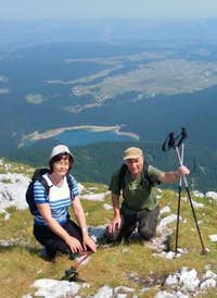 Pensioners in the mountains. Durmitor.