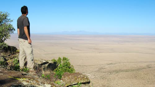 Overlook at summit of Alamo Mountain