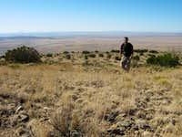 Grassy Area Near Alamo Mountain Summit