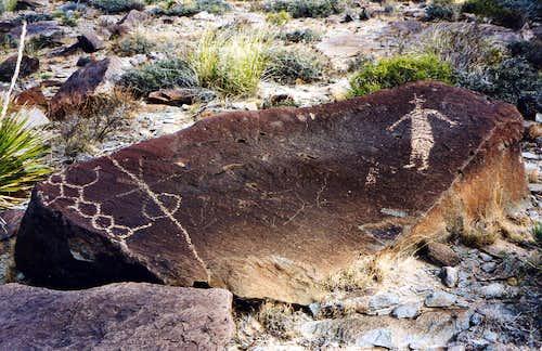 Alamo Mountain Petroglyphs