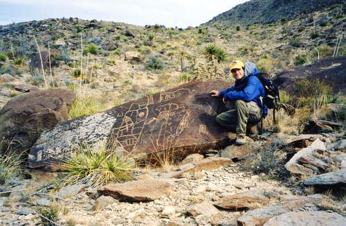 More Alamo Mountain Petroglyphs