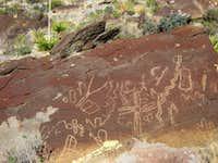 New Mexico Petroglyph at Alamo Mountain