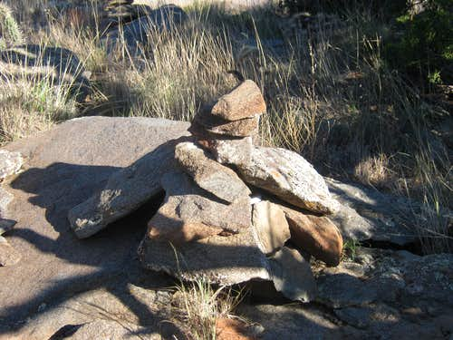 Alamo Mountain Summit Cairn