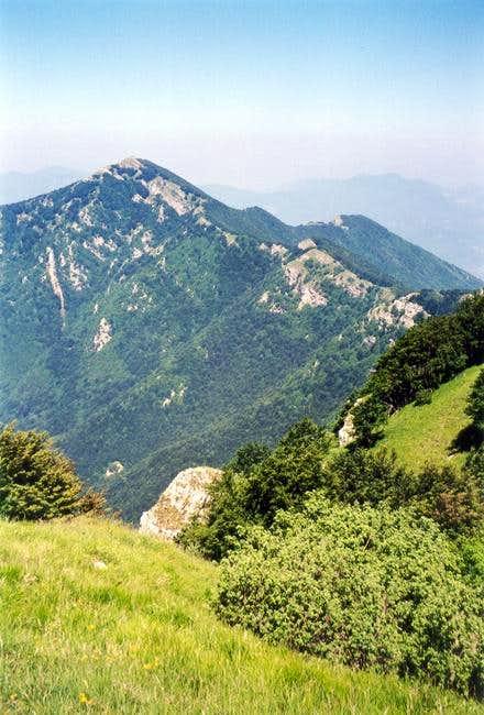 The ridge from Pizzo S....