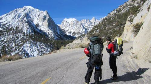 Battle on Mount Whitney's Mountaineer's Route