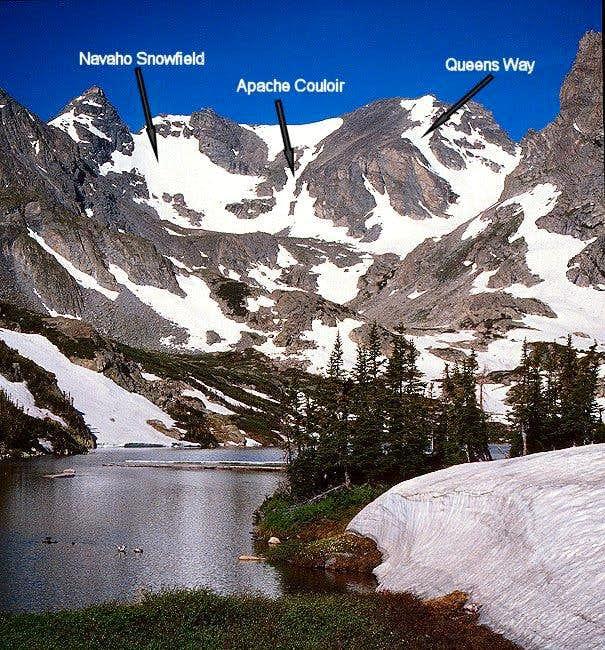 Navaho Peak on the left, and...