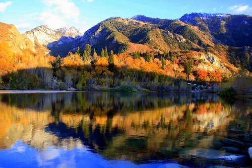 Lower Bells Reservoir Reflection