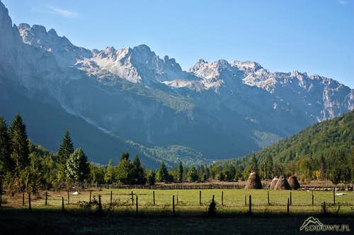 Valbona morning
