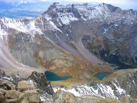 View from Mt Sneffels\' summit...
