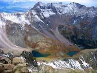 View from Mt Sneffels' summit...