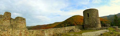 Rytro - castle ruins