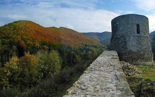 Castle Tower in Rytro