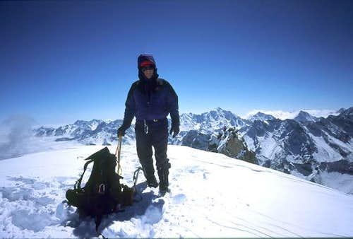 Banji Peak Summit, Oct 11, 2004