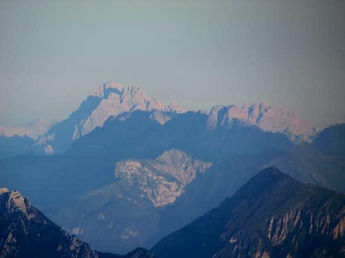 Dawn on the Dolomiti from Krn