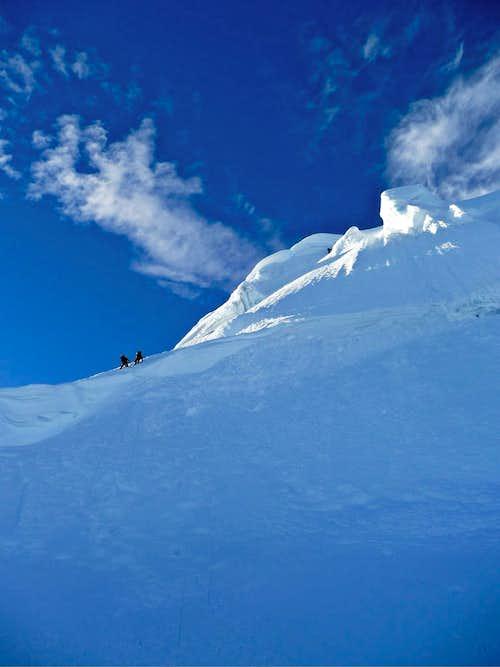 Tocllaraju NW Ridge