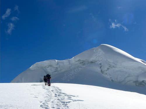 Inshinca Summit Pyramid