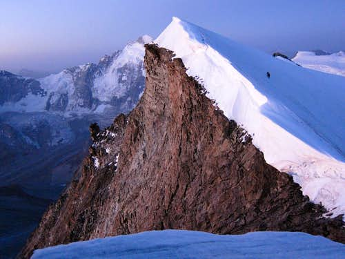 Point 3882 and Dent d'Herens