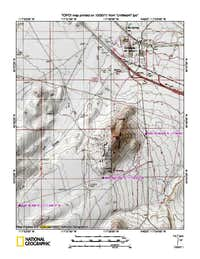 Sonoma Peak (NV) map