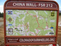 4WD routes around China Wall