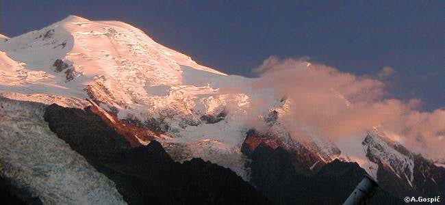 Dome du Gouter (4304m) and...