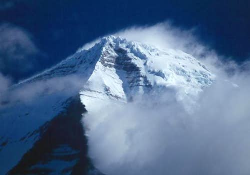 Sommet du mont Robson