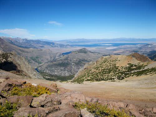 Mono Lake from San Joaquin Mountain