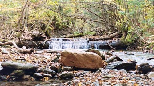 Small Falls on roaring brook