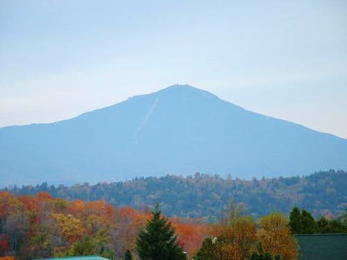 Whiteface looms over Lake...