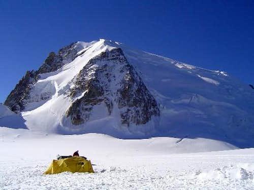 Col du Midi Campsite with...