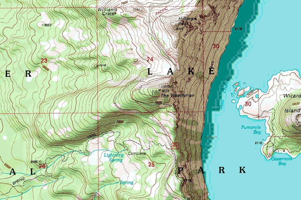 Watchman Map