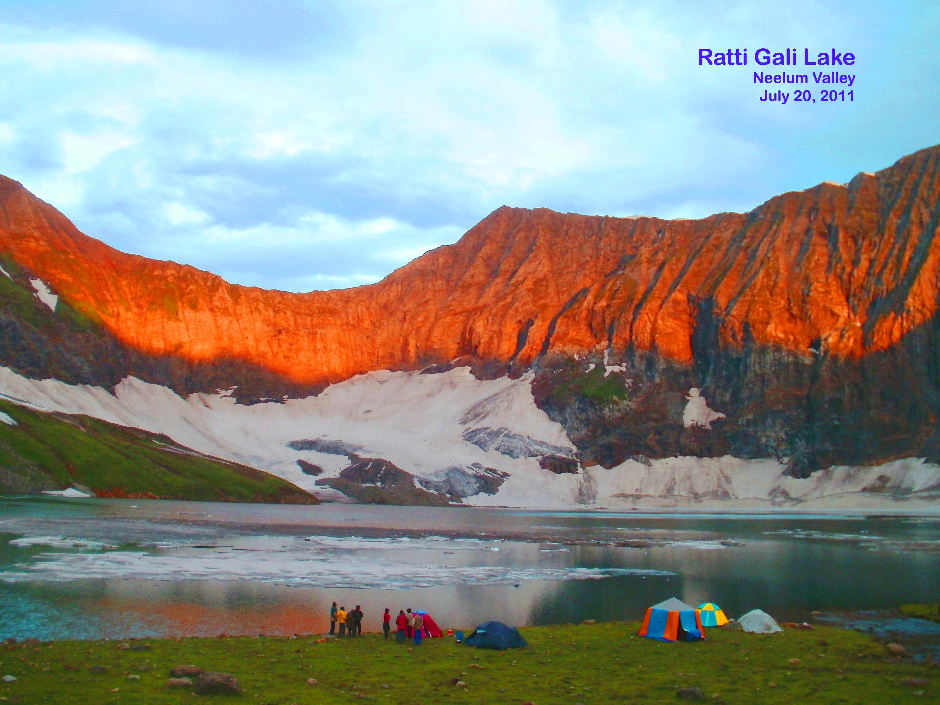 Ratti Gali Lake (Neelum Valley) Pakistan