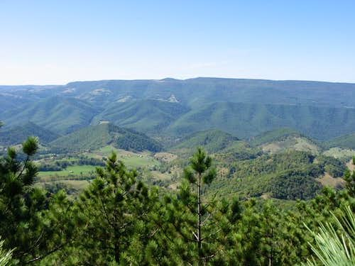 View of Spruce Knob from Pike...