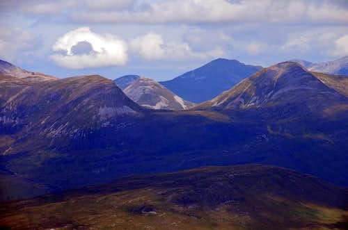 View from Buachaille Etive Mor