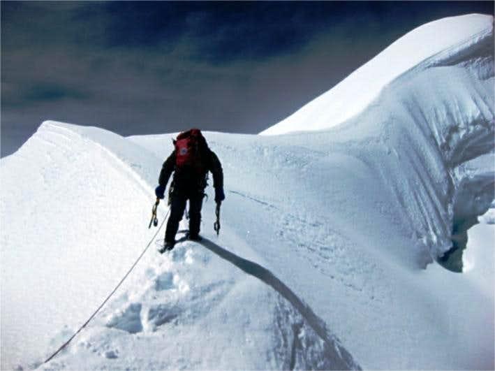 Ausangate summit ridge