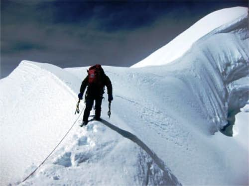 Ausangate summit ridge