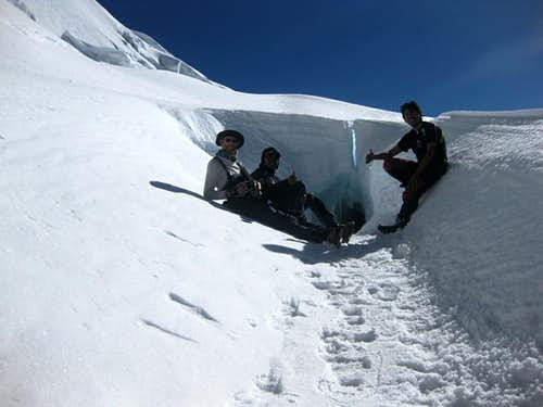 This is where we had our high camp