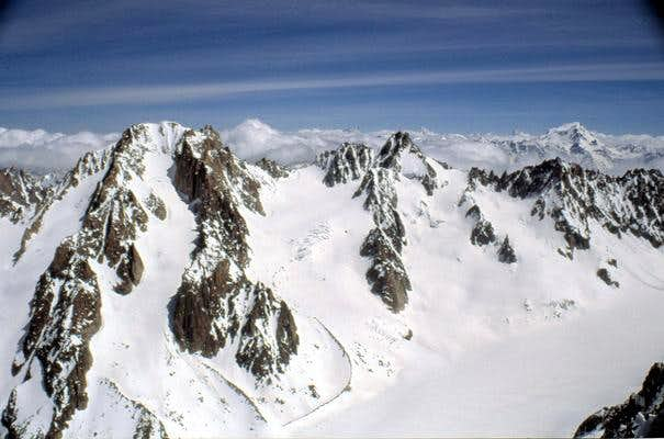 Massif of Aiguille...