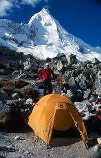 June 2003. Moreine Camp, my...