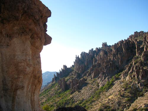 Superstition Wilderness Hoodoos