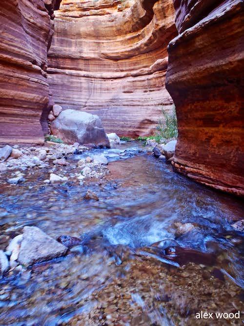 Inside Deer Creek Narrows