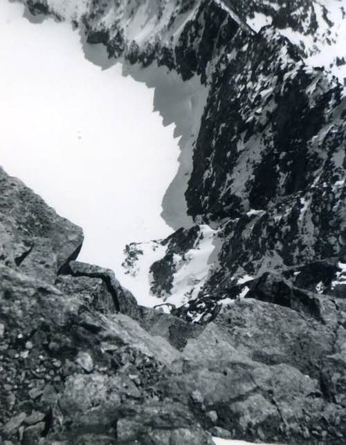 MONTE EMILIUS vertical East Wall of 500m to Laures's Vallon