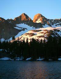 Mount Sill at sunrise