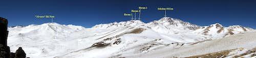 Sabalan and Alvares Ski Piste