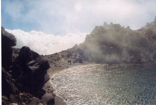 Sabalan Peak Lake