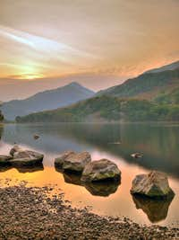 Early Evening - Llyn Gwynant