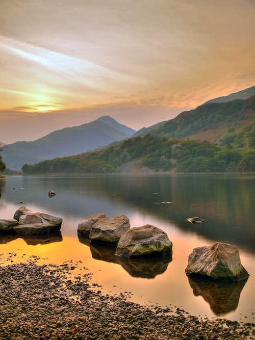 Early Evening - Llyn Gwynant